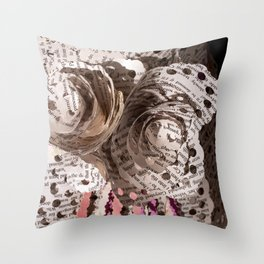 Vicki and the Vision I Throw Pillow