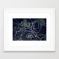 mosaic Framed Art Prints featuring Mosaic  by KunstFabrik_StaticMovement Manu Jobst