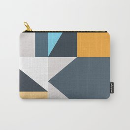 Modern Geometric 61 Carry-All Pouch