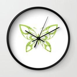 Butterfly 158 Wall Clock