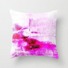Rivers Pink Brane Throw Pillow