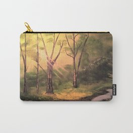 Sunny Forest Carry-All Pouch