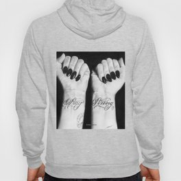Demi Stay Strong Tattoo Drawing Hoody