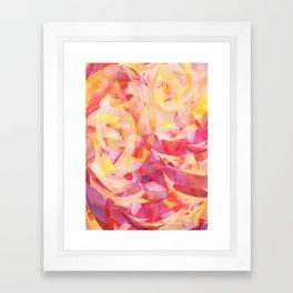 Concentric (Rise Remix) Framed Art Print