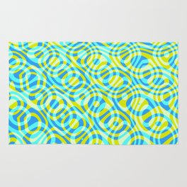 Mixed Polyps Yellow - Coral Reef Series 039 Rug