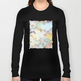 """Autumn Leaves Pastel"" by Murray Bolesta Long Sleeve T-shirt"