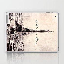 la Vie en Rose vintage Laptop & iPad Skin