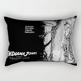 Indiana Jones and the Temple of Doom Rectangular Pillow