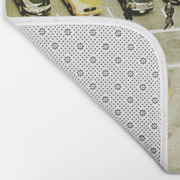 Escher Intersection Bath Mat