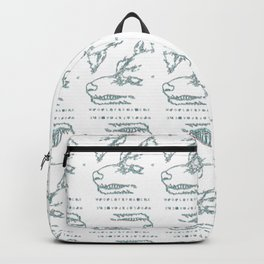 Wolfpack (color pattern with type) Backpack