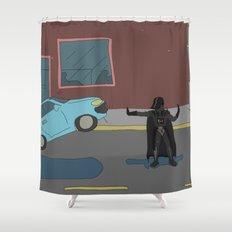 Darth Vader traffic Shower Curtain