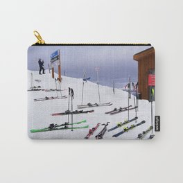 Skiers can't read ;o) Carry-All Pouch