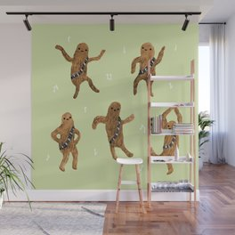 Wookie Dance Party Wall Mural