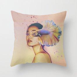 Olho de Peixe Throw Pillow