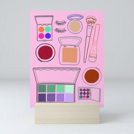 Makeup Mini Art Print