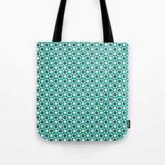 Emerald flower Tote Bag