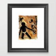 Labadee Beach / Haiti Framed Art Print