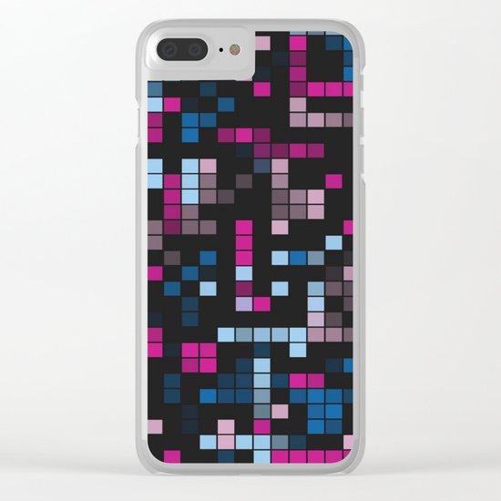 Geo Fun 32a Clear iPhone Case