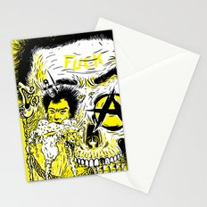 P – Punk Stationery Cards