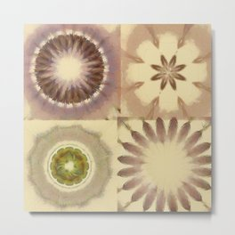 Bangles Proportion Flowers  ID:16165-105758-18940 Metal Print