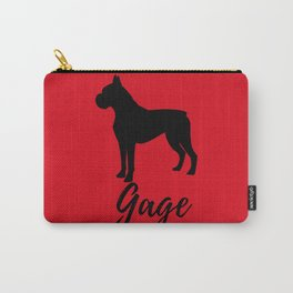 Gage Red Boxer Carry-All Pouch
