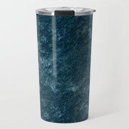 Peacock teal velvet Travel Mug