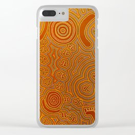 Graffiti Suggestions Clear iPhone Case