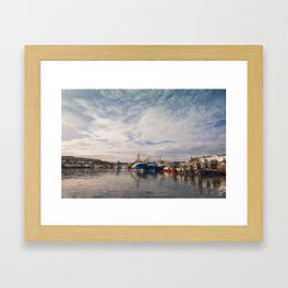 Irish landscape in Howth Framed Art Print
