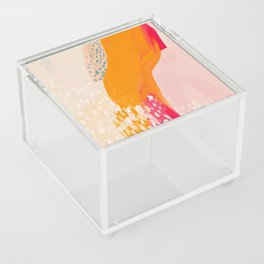 The Abstract Shape Of Spring Acrylic Box