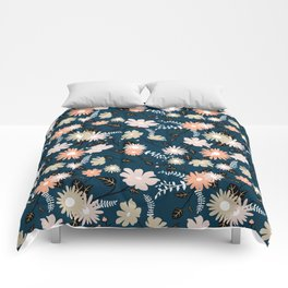 Marseille - Floral Pattern Comforters
