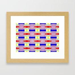 Colorandform mixery 6 Framed Art Print