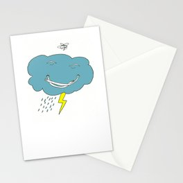 Ivan the angry cloud Stationery Cards