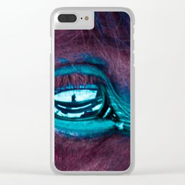 Belly of The Beast Clear iPhone Case