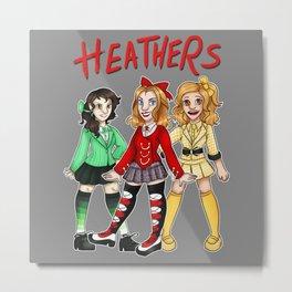 The Heathers Metal Print