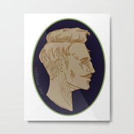 Cameo: Dorian Metal Print