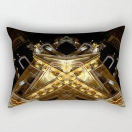 rorscach grand place brussels belgium Rectangular Pillow