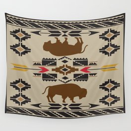 American Native Pattern No. 180 Wall Tapestry