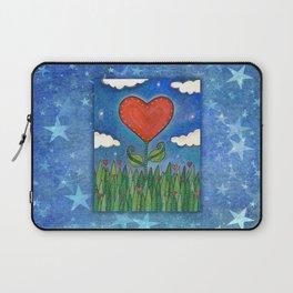 Let Love Grow Laptop Sleeve