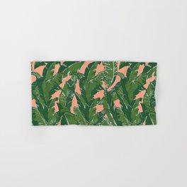 Leaves Bananique in Fresh Salmon Hand & Bath Towel
