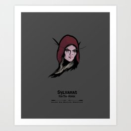 Sylvanas Art Print