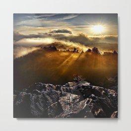 SMOKEY MOUNTAIN - 160918/1 Metal Print