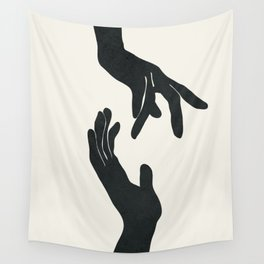 Abstract Hands Wall Tapestry