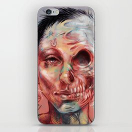 Lovely Scull iPhone Skin