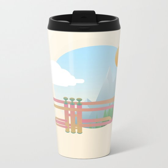 Summer Ballad Metal Travel Mug