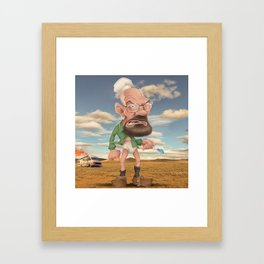 It's time to cook! Framed Art Print
