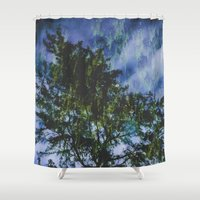 skyfall Shower Curtains featuring Skyfall #society6 by 83 Oranges™