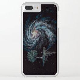 Starstuff - surreal cosmic dreamscape Clear iPhone Case