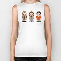 big lebowski Biker Tanks featuring The Big Lebowski  by PixelPower