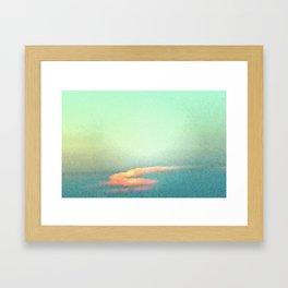 Ring of Fire (Stoner Camo) Framed Art Print