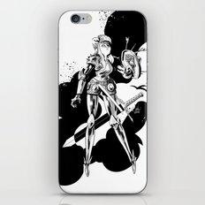 Lady Knight iPhone & iPod Skin